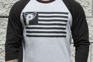 profile nation 3/4 sleeve shirt